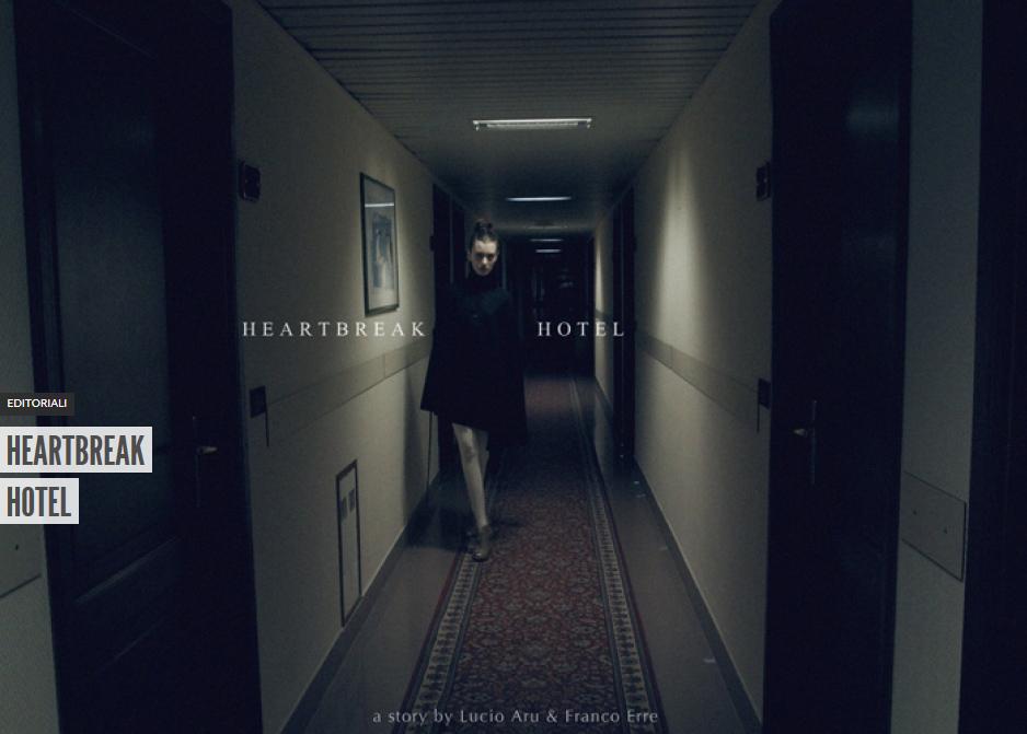 copertina heartbreak hotel editoriale