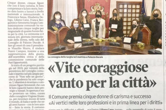 La Nuova Sardegna - Mar 2021